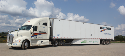 Truckload or less than truckload shipments via Challenger