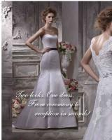 A two in one gown by Anjolique