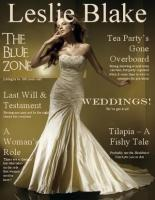 Leslie Black magazine cover; Anjolique Leslie Blake magazine cover