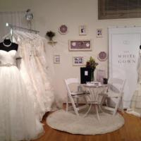 Inside the The White Gown store